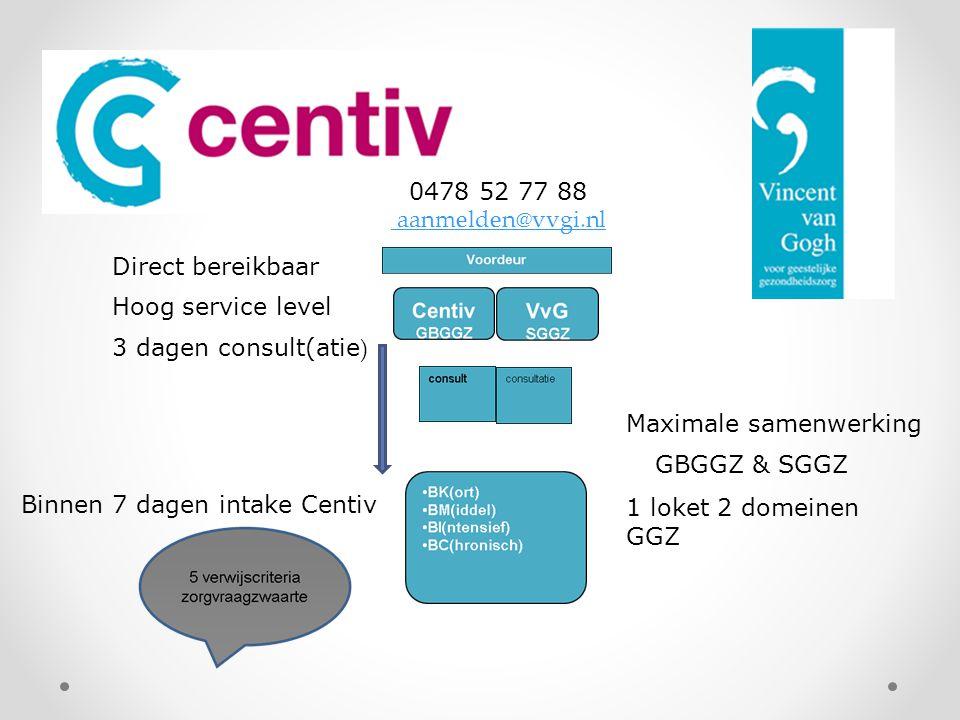 0478 52 77 88 aanmelden@vvgi.nl. Direct bereikbaar. Hoog service level. 3 dagen consult(atie) Maximale samenwerking.