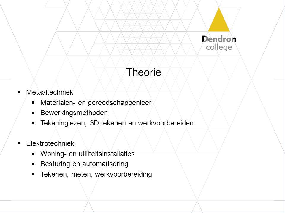 Theorie Metaaltechniek Materialen- en gereedschappenleer