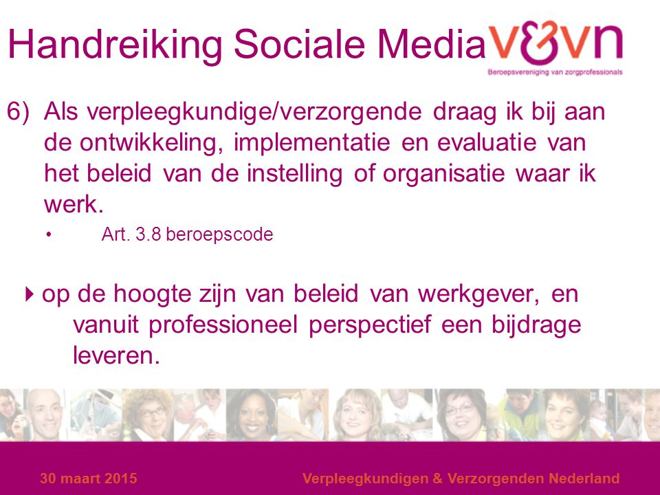 Handreiking Sociale Media