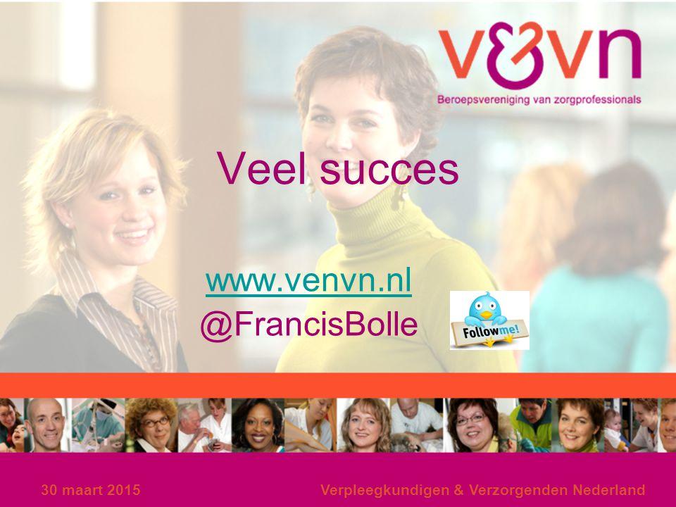 www.venvn.nl @FrancisBolle