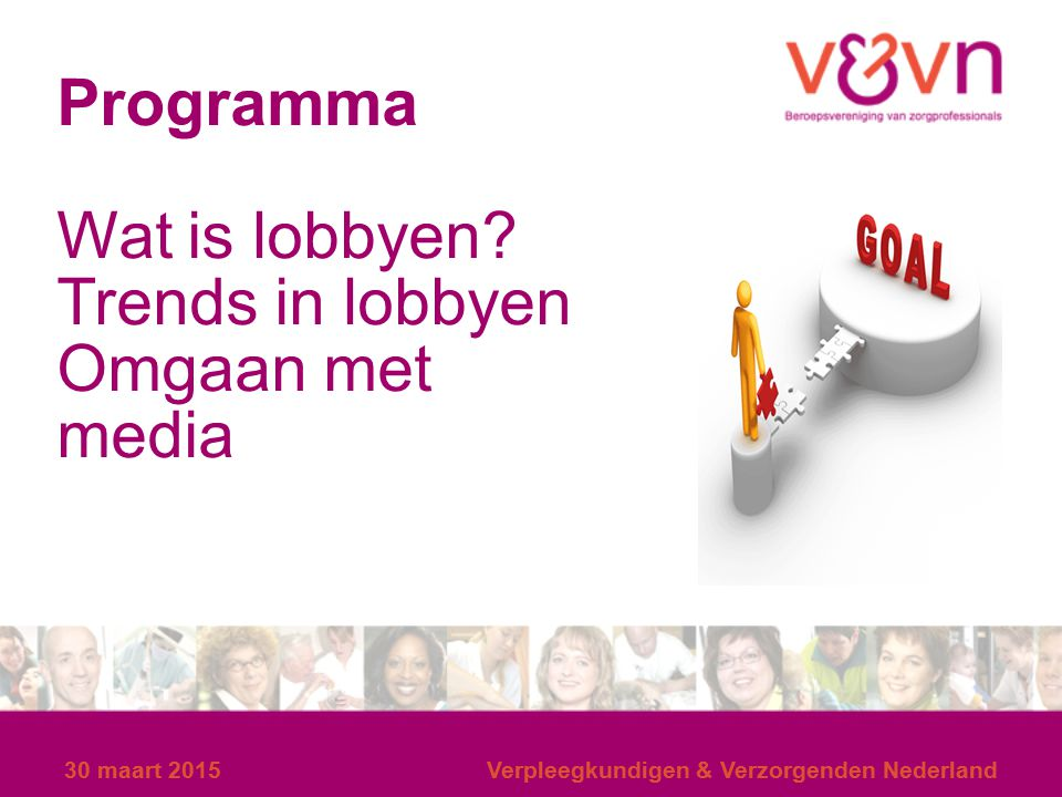 Wat is lobbyen Trends in lobbyen Omgaan met media