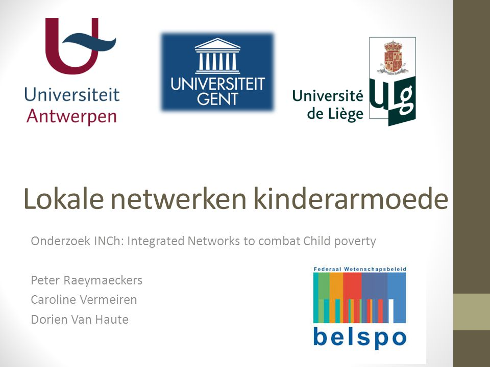 Lokale netwerken kinderarmoede