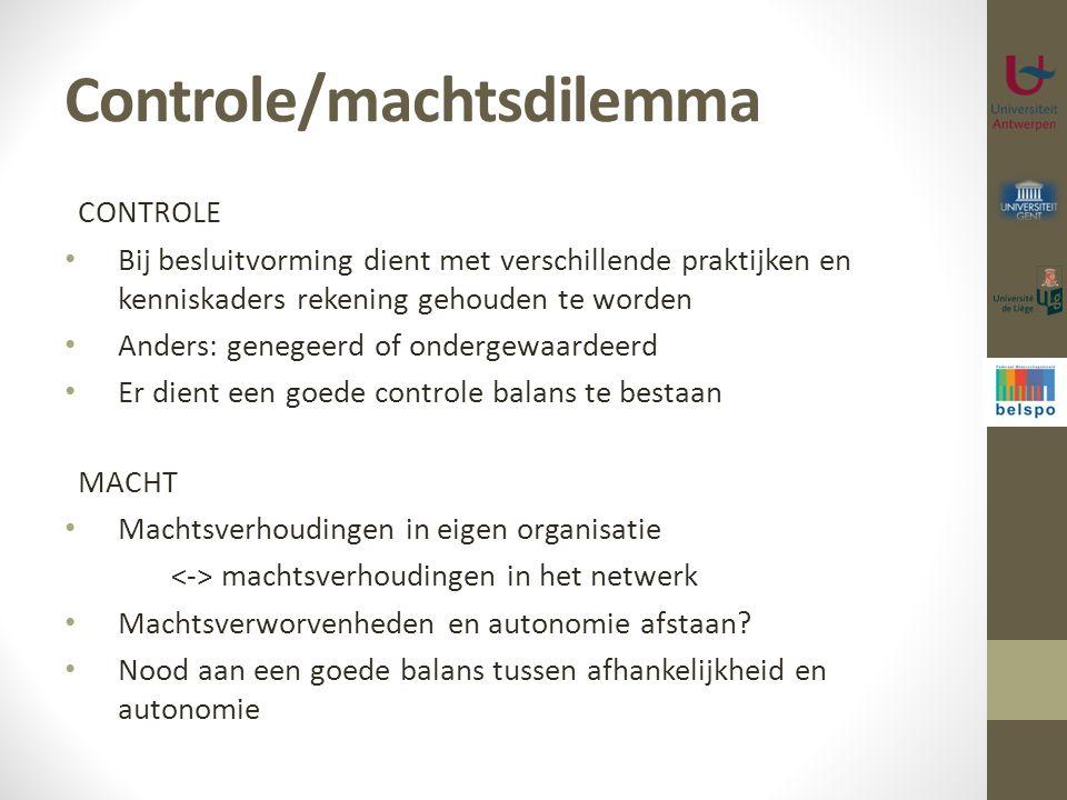 Controle/machtsdilemma