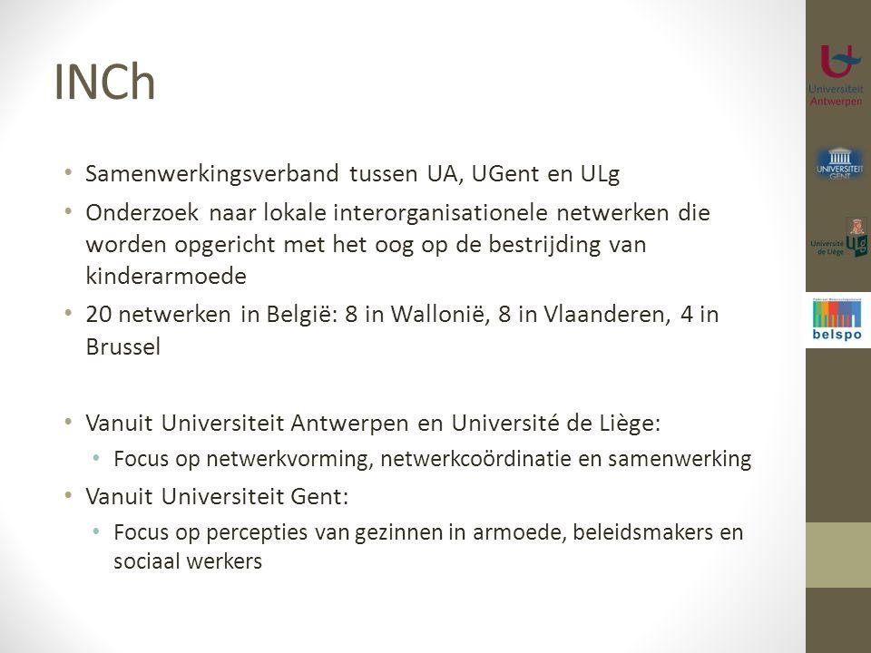 INCh Samenwerkingsverband tussen UA, UGent en ULg