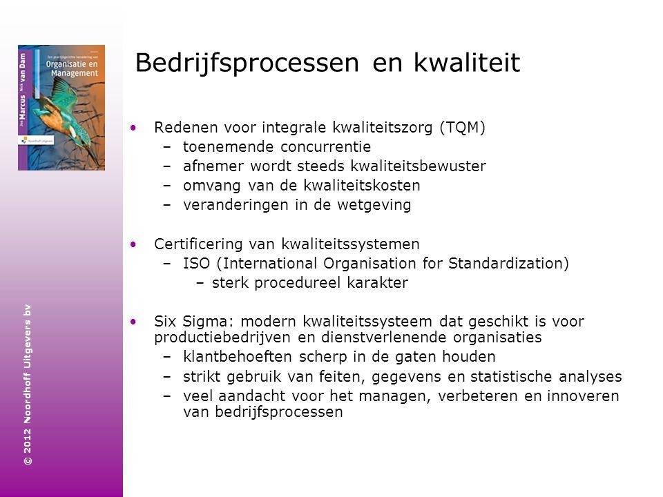 Bedrijfsprocessen en kwaliteit