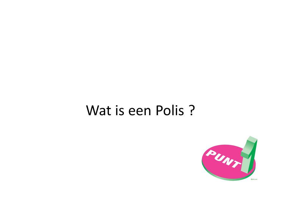 Wat is een Polis