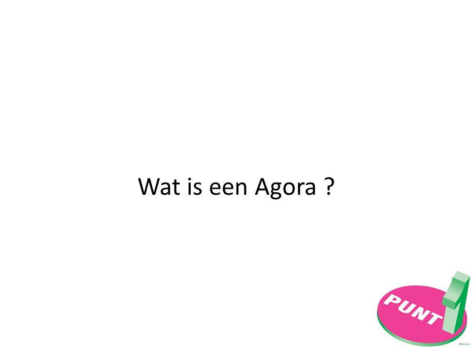 Wat is een Agora