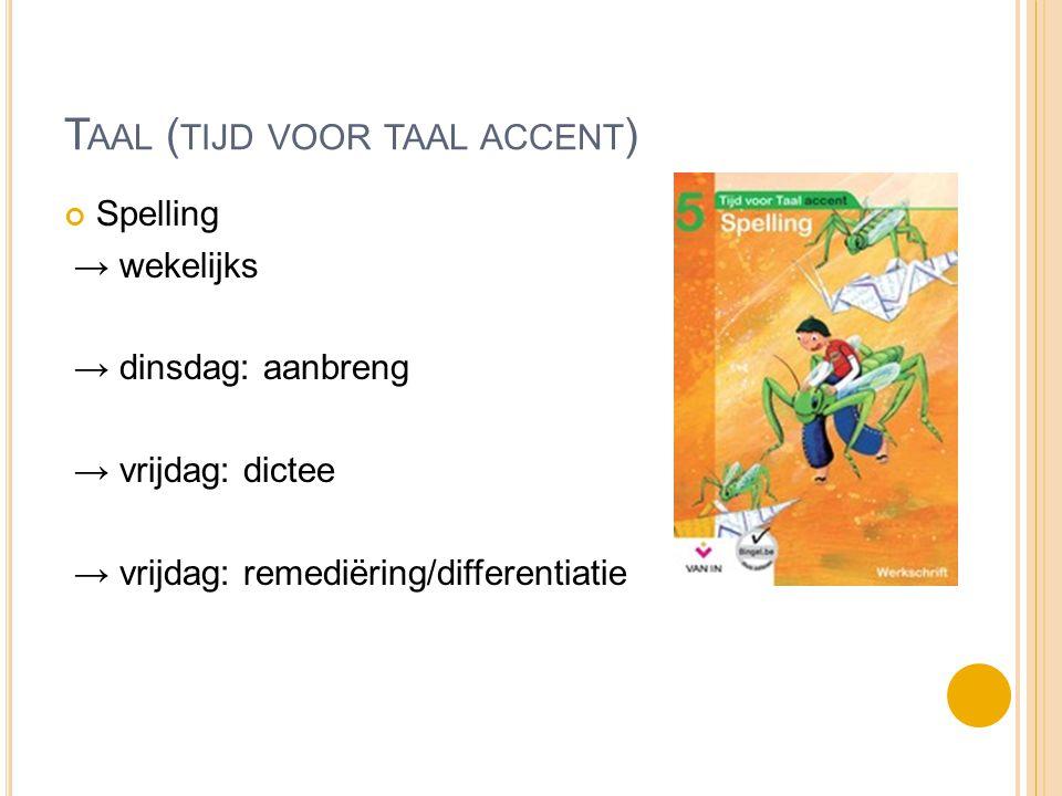 Taal (tijd voor taal ACCENT)