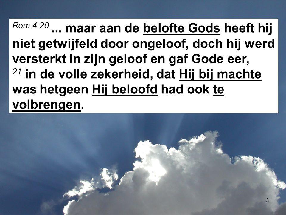 Rom.4:20 ...