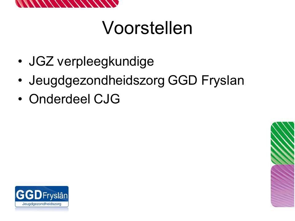 Voorstellen JGZ verpleegkundige Jeugdgezondheidszorg GGD Fryslan