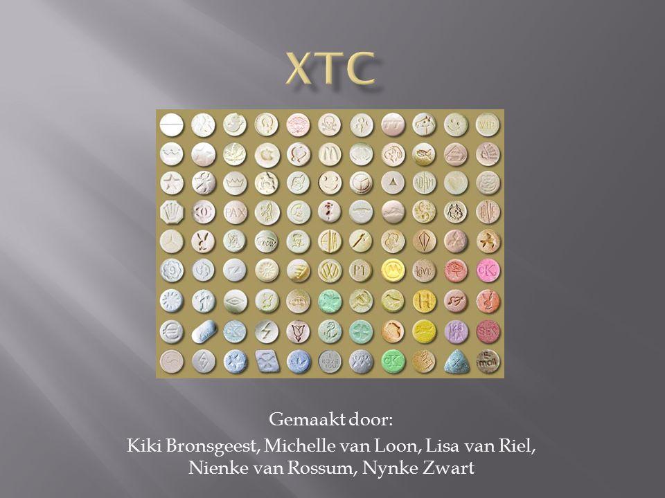 XTC Gemaakt door: Kiki Bronsgeest, Michelle van Loon, Lisa van Riel, Nienke van Rossum, Nynke Zwart
