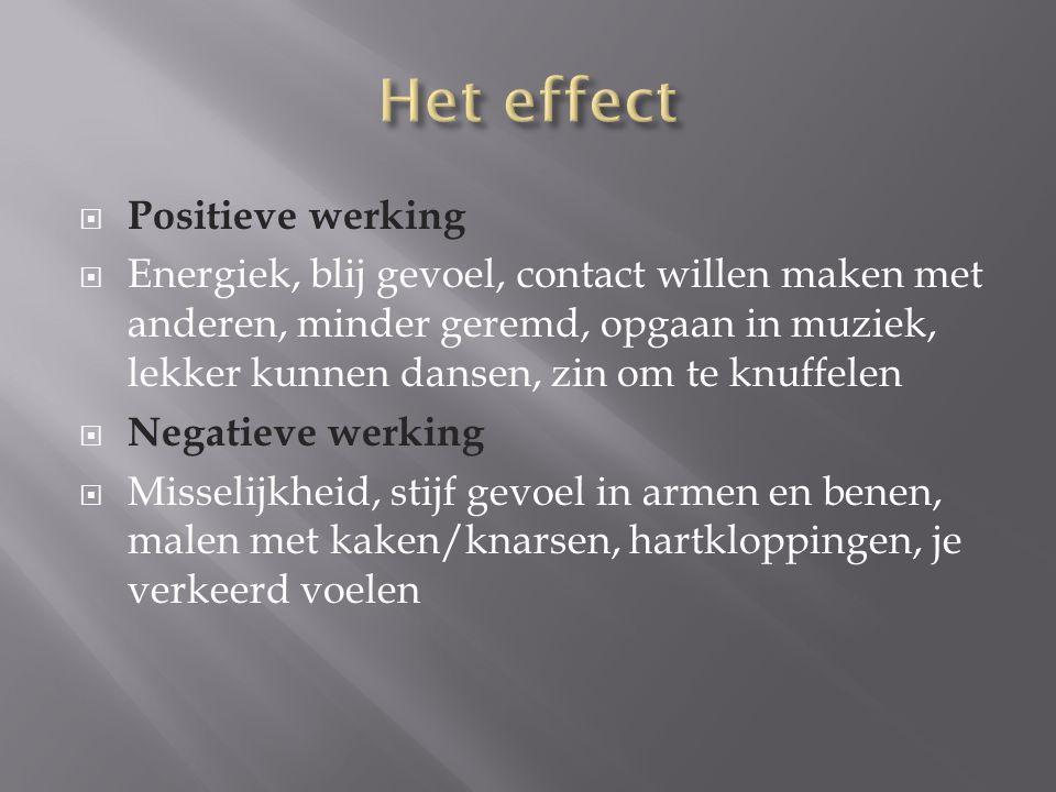 Het effect Positieve werking