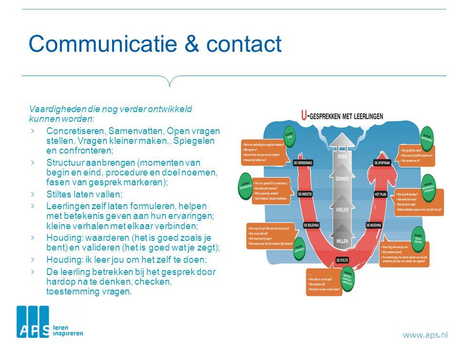 Communicatie & contact