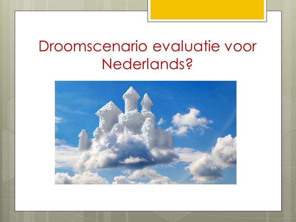 Droomscenario evaluatie voor Nederlands