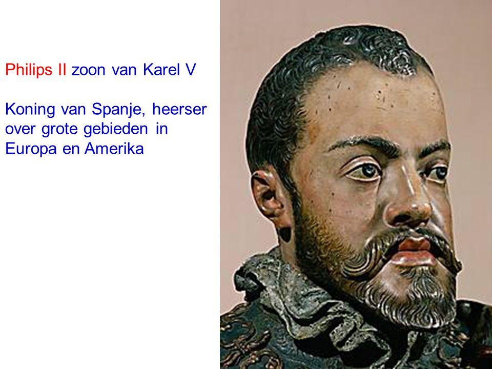 Philips II zoon van Karel V