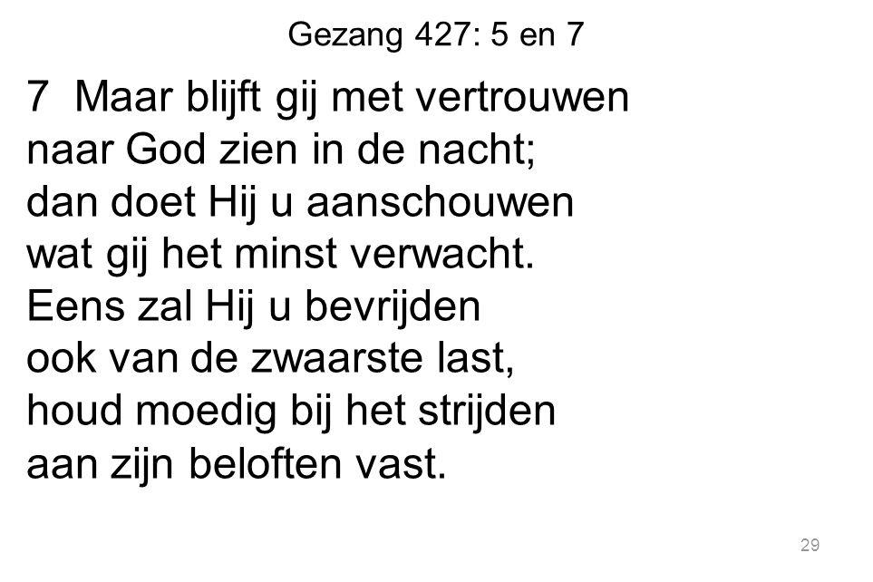Gezang 427: 5 en 7