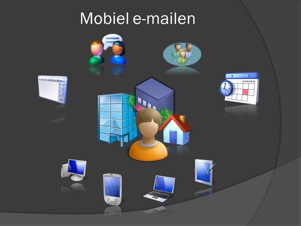 Mobiel e-mailen