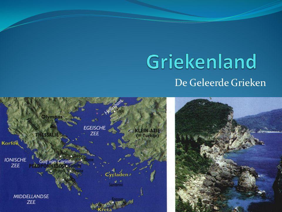 Griekenland De Geleerde Grieken