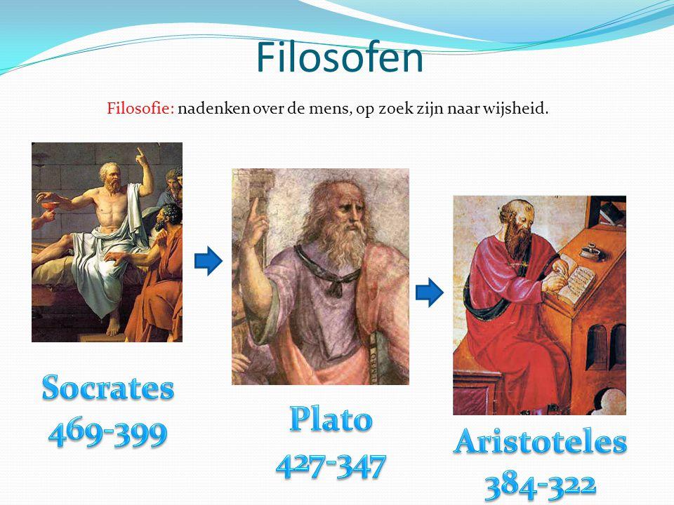 Filosofen Socrates 469-399 Plato 427-347 Aristoteles 384-322