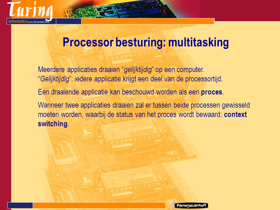 Processor besturing: multitasking