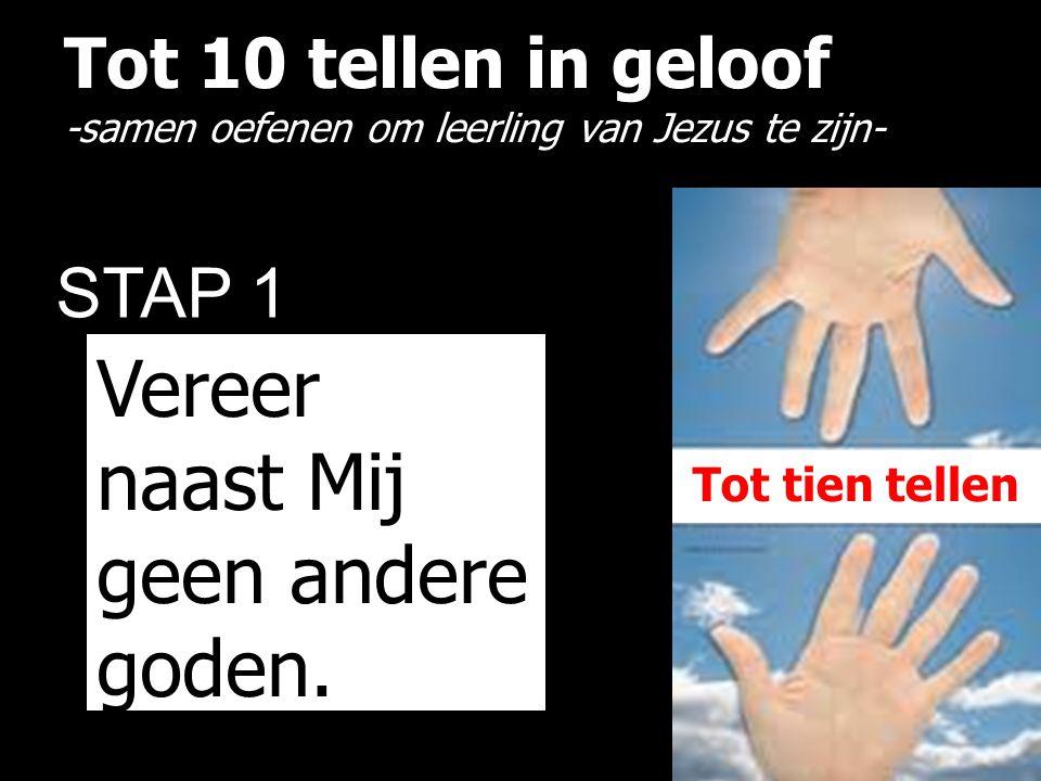Tot 10 tellen in geloof -samen oefenen om leerling van Jezus te zijn-