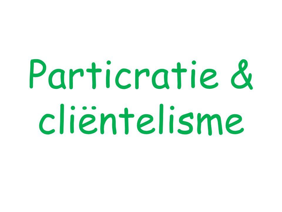 Particratie & cliëntelisme