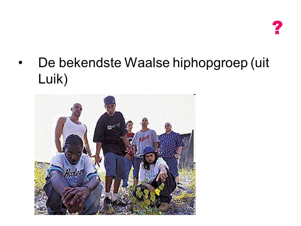 De bekendste Waalse hiphopgroep (uit Luik)