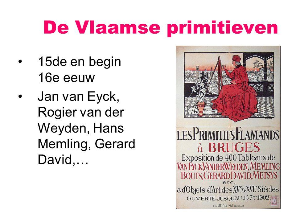 De Vlaamse primitieven