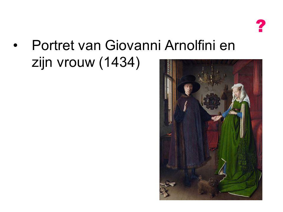 Portret van Giovanni Arnolfini en zijn vrouw (1434)