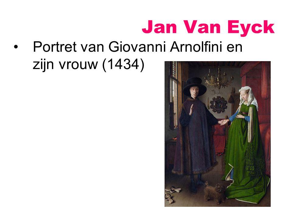 Jan Van Eyck Portret van Giovanni Arnolfini en zijn vrouw (1434)
