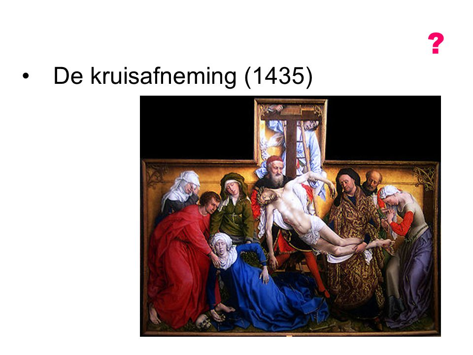 De kruisafneming (1435)
