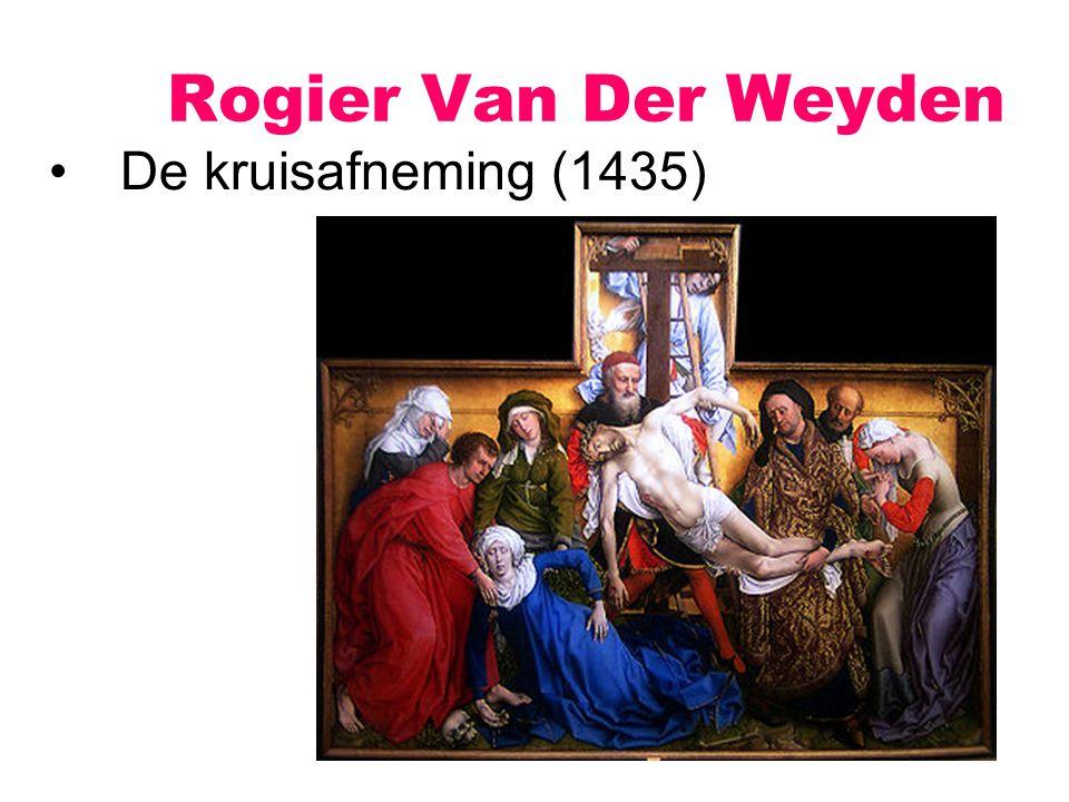 Rogier Van Der Weyden De kruisafneming (1435)