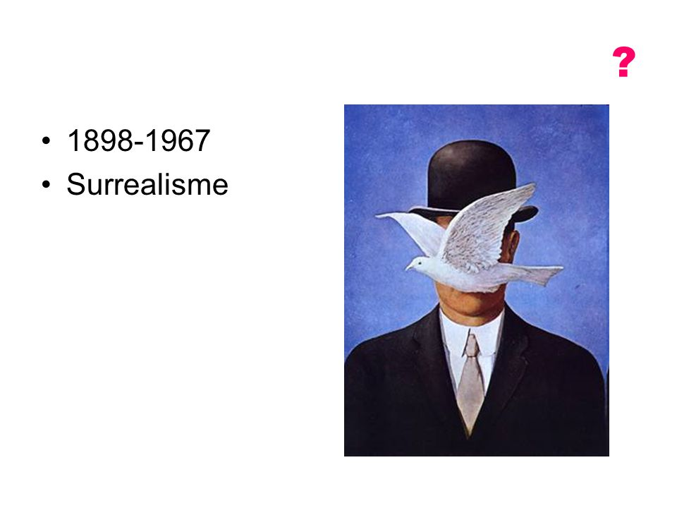 1898-1967 Surrealisme