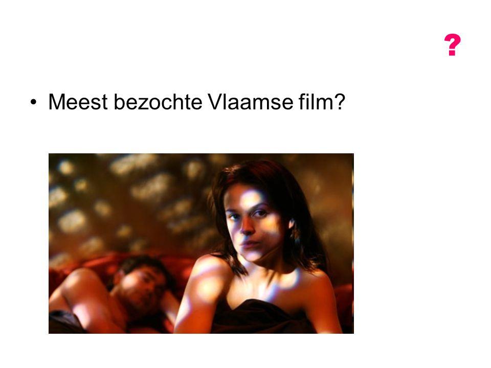 Meest bezochte Vlaamse film