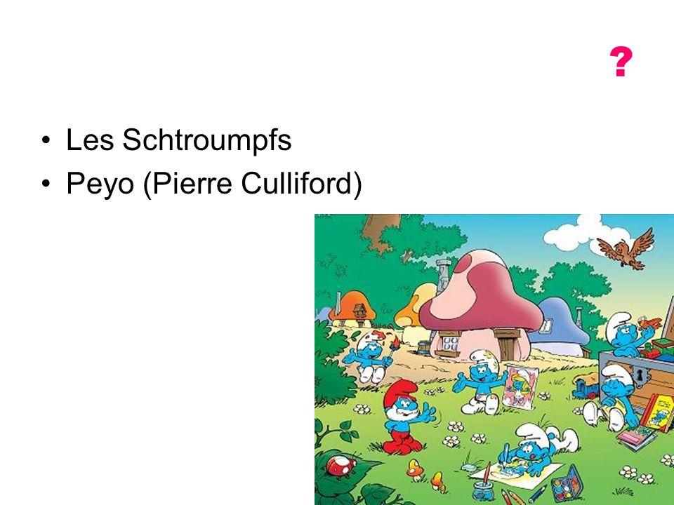 Les Schtroumpfs Peyo (Pierre Culliford)