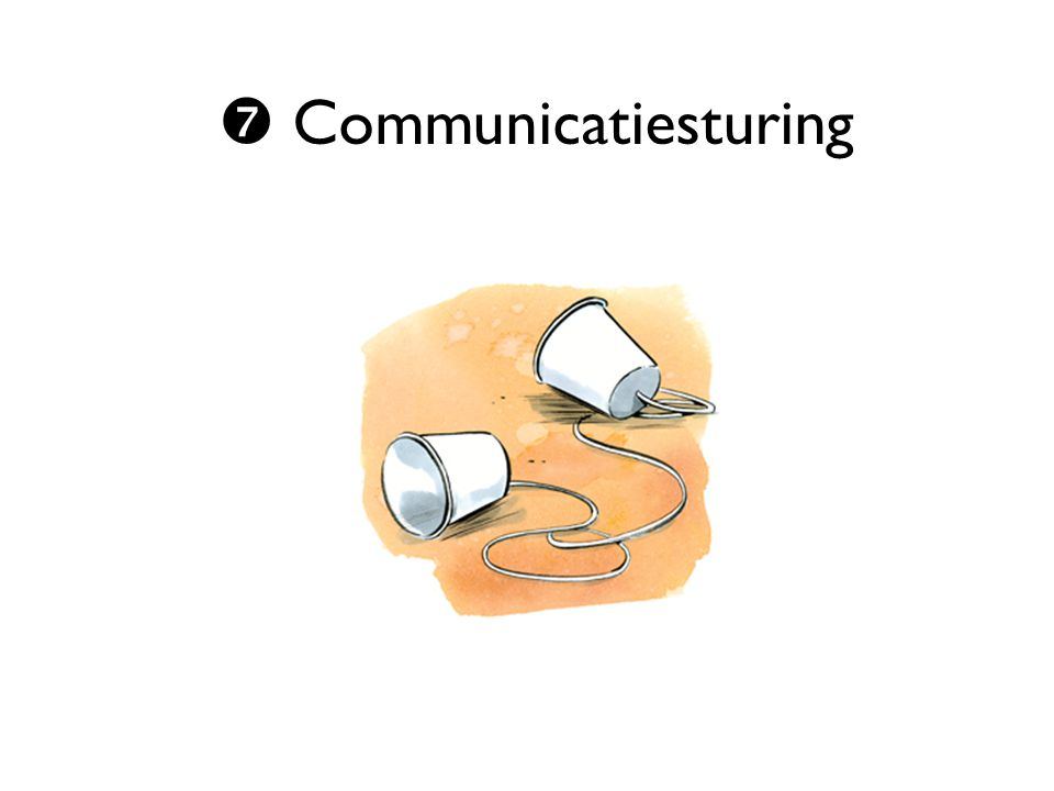  Communicatiesturing