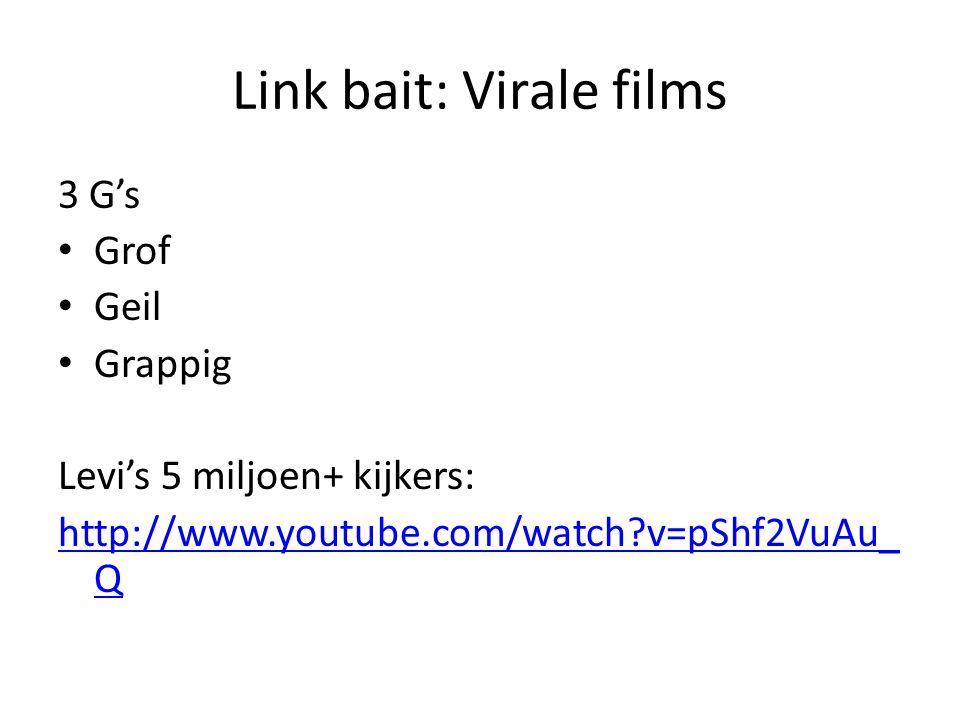 Link bait: Virale films