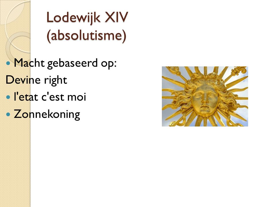 Lodewijk XIV (absolutisme)