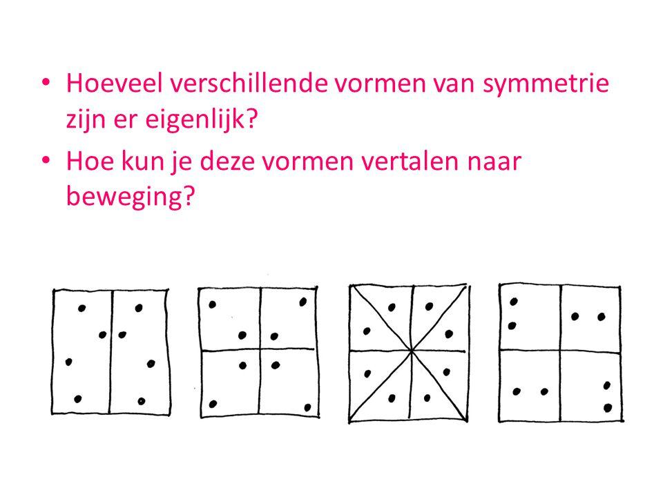 Hoeveel verschillende vormen van symmetrie zijn er eigenlijk