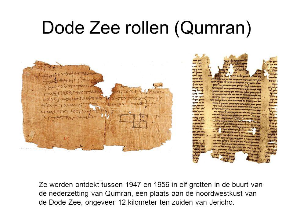 Dode Zee rollen (Qumran)