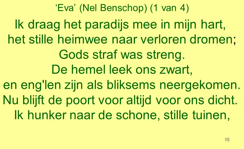 'Eva' (Nel Benschop) (1 van 4)