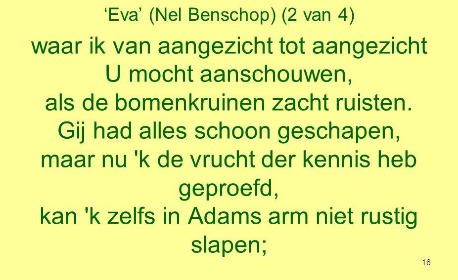 'Eva' (Nel Benschop) (2 van 4)