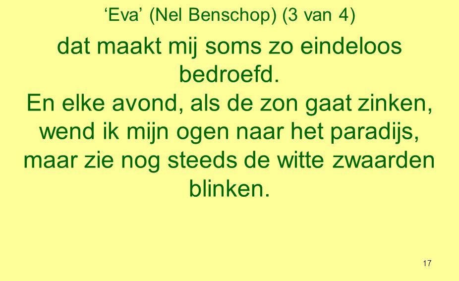 'Eva' (Nel Benschop) (3 van 4)