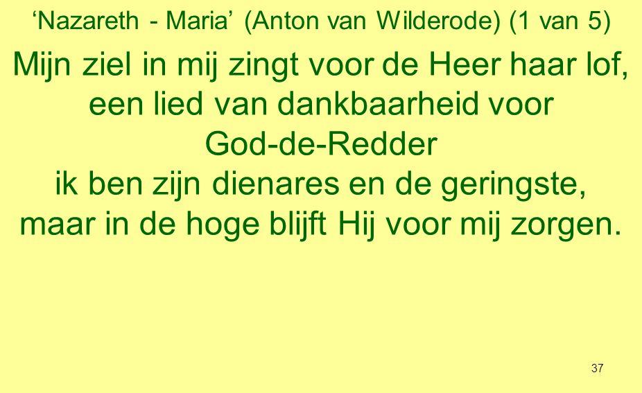 'Nazareth - Maria' (Anton van Wilderode) (1 van 5)
