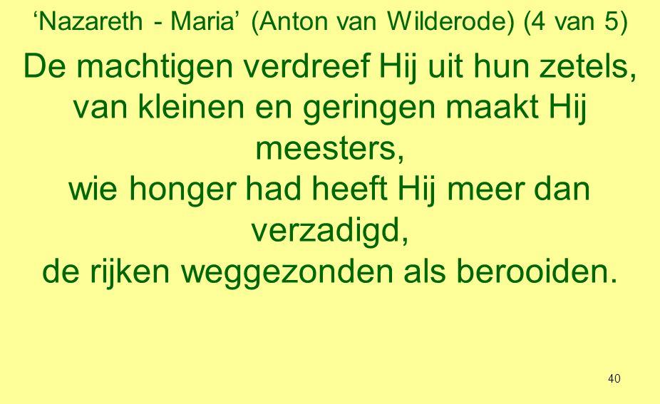 'Nazareth - Maria' (Anton van Wilderode) (4 van 5)
