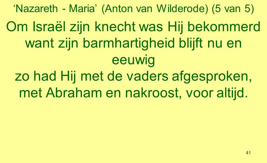 'Nazareth - Maria' (Anton van Wilderode) (5 van 5)