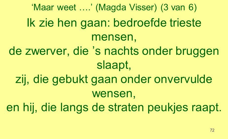 'Maar weet ….' (Magda Visser) (3 van 6)
