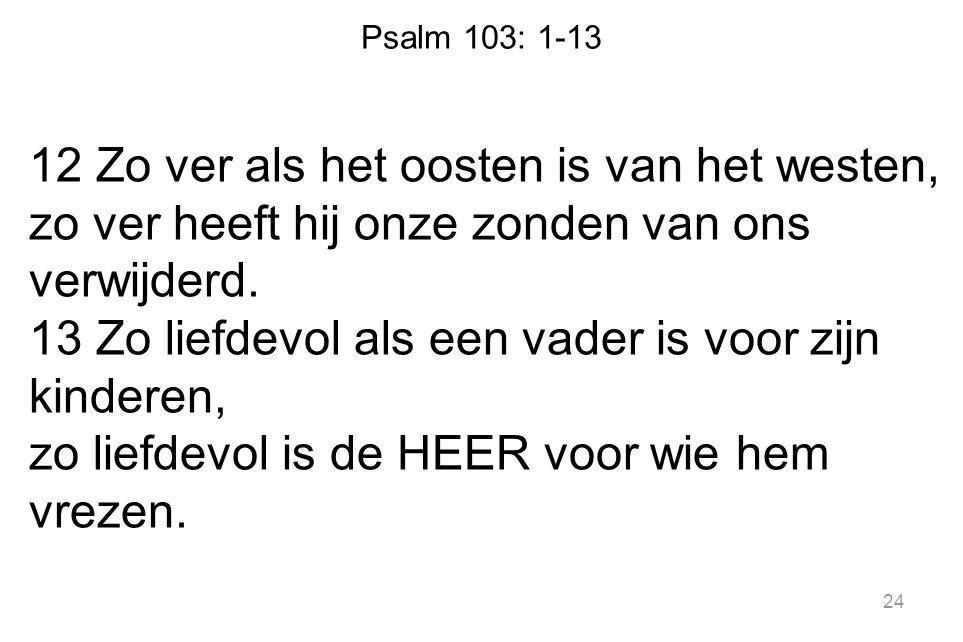 Psalm 103: 1-13