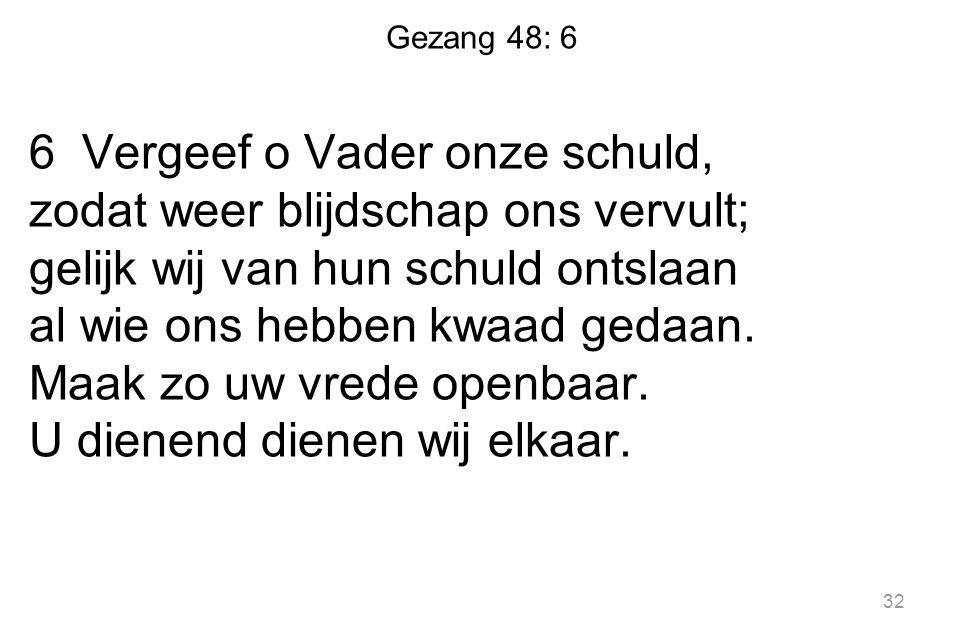 Gezang 48: 6