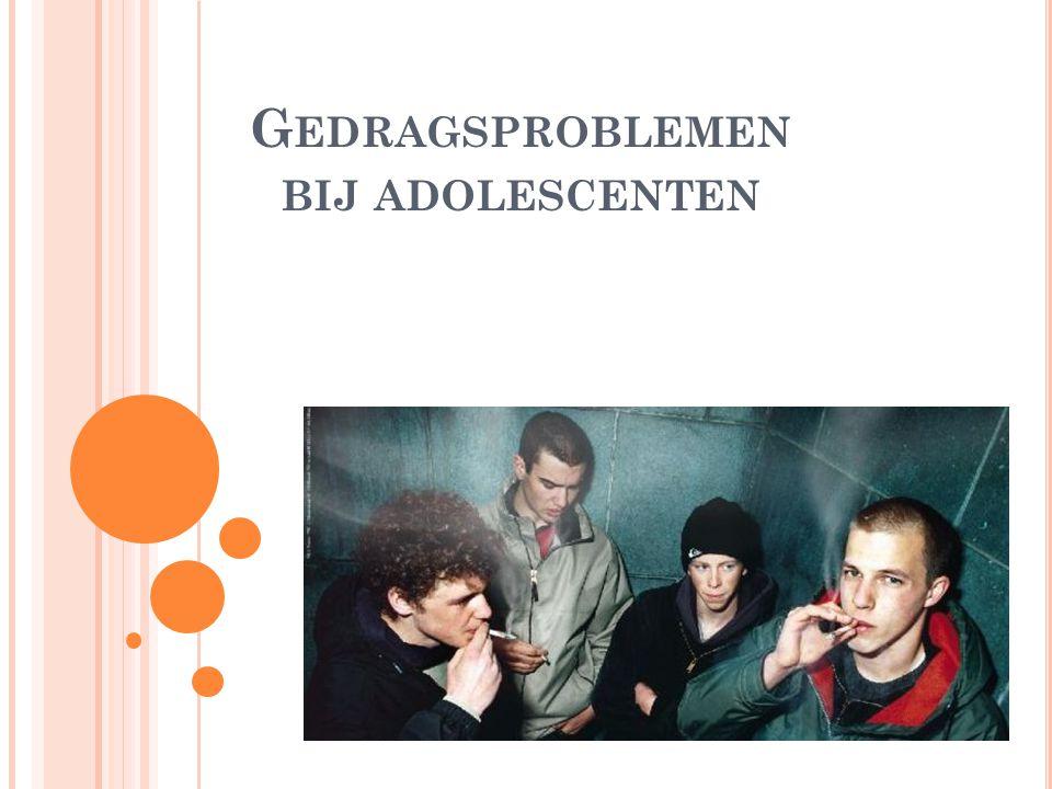 Gedragsproblemen bij adolescenten